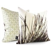 Thatch Throw Pillow in Grass