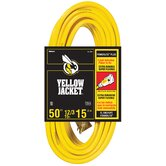 SJTW Outdoor Extension Cord with Powerlite Indicator