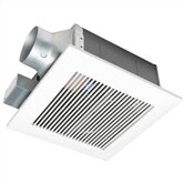 WhisperFit 50 CFM Low Profile Ceiling Mounted Bathroom Fan - Energy Star Rated