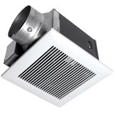 WhisperGreen 130 CFM Premium Ceiling Mounted Continuous and Spot Ventilation Fan