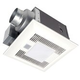 Whisper Sense-Lite 110 CFM Dual Bathroom Ventilation Fan-Light
