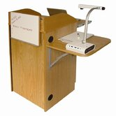 Counsel Media Lectern with Standard Sound