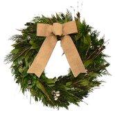 Natural Evergreen Wreath