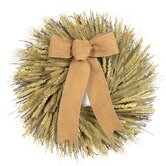 All Natural Fall Sheaf Wreath