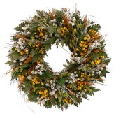 Tuscan Wild Daisy Wreath