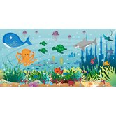Personalized Canvas Ocean Boy Wall Mural
