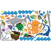 Peel and Play Ocean Boy Wall Play Set