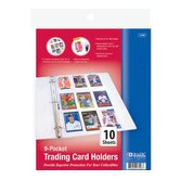 Top Loading 9-Pockets Sports Card Holder (Set of 10)