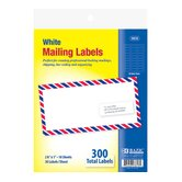 White Address Labels