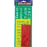 Lettering Stensil (Set of 3)