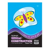 Glitter Construction Paper Pad (Set of 48)