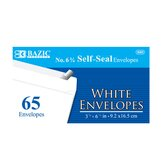 65 Ct. Self-Seal Envelopes (Set of 24)