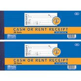 2-Part Cash or Rent Receipt (Set of 50)