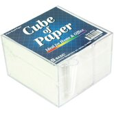 Paper Cube With Pen Holder (Set of 48)