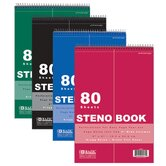 Green Tint Gregg Ruled Steno Book (Set of 48)