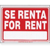 Se Renta Sign (Set of 24)
