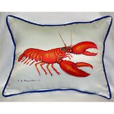 Coastal Lobster Indoor / Outdoor Pillow