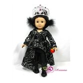 Ravena Evil Queen 4 Piece Doll Outfit Set
