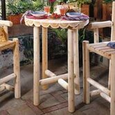 Rustic Natural Cedar Furniture Outdoor Tables