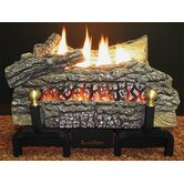 Deluxe Millivolt LP Gas Fueled Ceramic Log Set