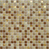 "Crystone CS006 12"" x 12"" Stone and Glass Mosaic"
