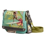 Petal Surfer Girl Cross Body Bag