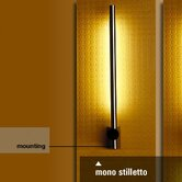 Stilletto Mono Wall Lamp