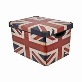 22 Litre Union Jack Deco Box (Pack of 2)