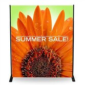 "36"" - 72"" Width Adjustable Powerframe Banner Display Stand"