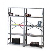 Commercial Steel Shelving, 6 Shelves