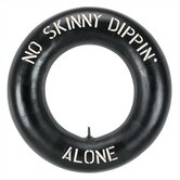 &quot;No Skinny Dippin' Alone&quot; Outdoor Sign