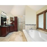 "Designer Entre 60"" W X 32"" D Bath Tub with Combo System"