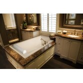 "Designer Regal 70"" W X 34"" D Bath Tub with Combo System"