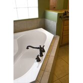 "Designer Rincon 59"" W X 18"" D Bath Tub with Combo System"