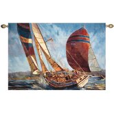 Racing in the Wind Tapestry