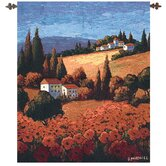 Tuscan Poppies Tapestry