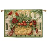 Happy Holiday Tapestry