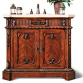 Backsplash Pacifica Sink Chest in Antique Brown