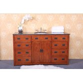 "60"" Single Bathroom Vanity Set in Dark Oak"
