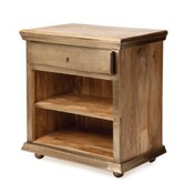 Nauru 1 Drawer Nightstand