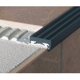 HD Anodized Aluminum Anti-Skid Step Strip with PVC Insert