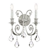 Regis Wall Sconce in Olde Silver
