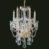Bohemian 5 Light Candle Chandelier