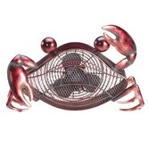 Crab Figurine Table Top Fan