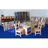 7 Piece Classroom Storage Package Set