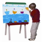 Tot Size Double Chalkboard Easel