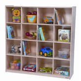 Sixteen Section Cubby Storage