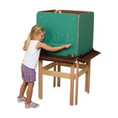 Natural Environment 4-Sided Easel with Brown Tray