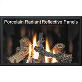Fireplace Reflective Radiant Panel