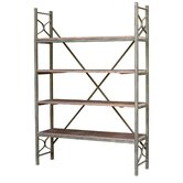 White x White Decorative Shelving
